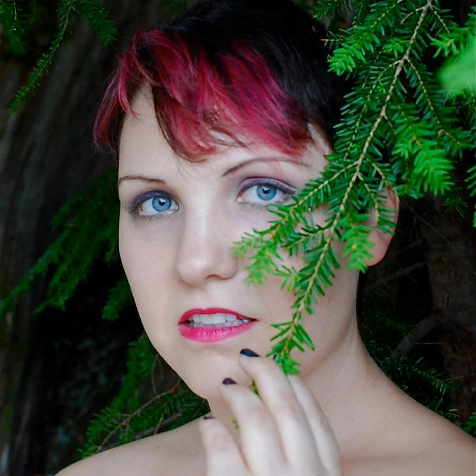 Morgan Elizabeth as Amber appears in:   Psychic Support Group    Bonus Content: Psychic Amber