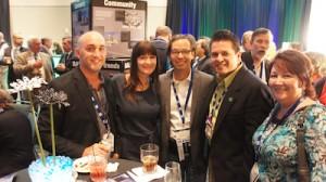 Josh & Michelle Wynne, Phil Kean, Drew & Debbie Smith