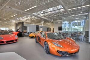 The Dimmitt Automotive Group's Rolls-Royce, Bentley and McLaren showroom