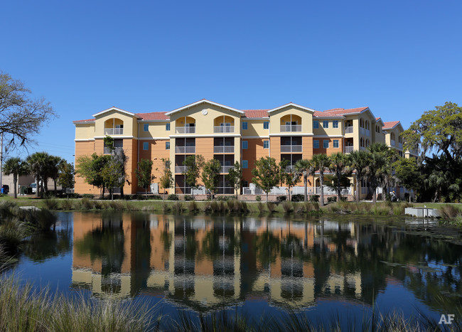 Venetian Walk - Service - USGBC LEED Homes Multi-Family Gold81,957 sq/ft 61 unitsAnother Accolade Property Management senior apartment facility, Venetian Walk offers affordable living for adults 62 years and up in Venice, Florida. Floor plans offer residents with either one-, or two-bedroom options with fully equipped kitchens and the choice between a private balcony or lanai. There are emergency assistance cords located in each bedroom and bathroom and you are located near a medical center. An activities director is on-site, and inside the apartment community there are amenities such as a fitness center, an arts and crafts room, walking paths, a library, and many more benefits. The U.S. Green Building Council has certified Venetian Walk as LEED Gold for its excellence in sustainable design and green building techniques, and this community achieved a 16.8% improvement in energy costs compared to 2007 ASHRAE standards. 100% native and drought tolerant plants were used in the landscaping to reduce irrigation water usage, and low flow faucets, showerheads, and other water usage limiters were installed within the apartments to make this community water efficient. This community is also within a half of a mile of many community resources and is near downtown Venice, which has much to offer in terms of entertainment, dining, parks, and shopping.