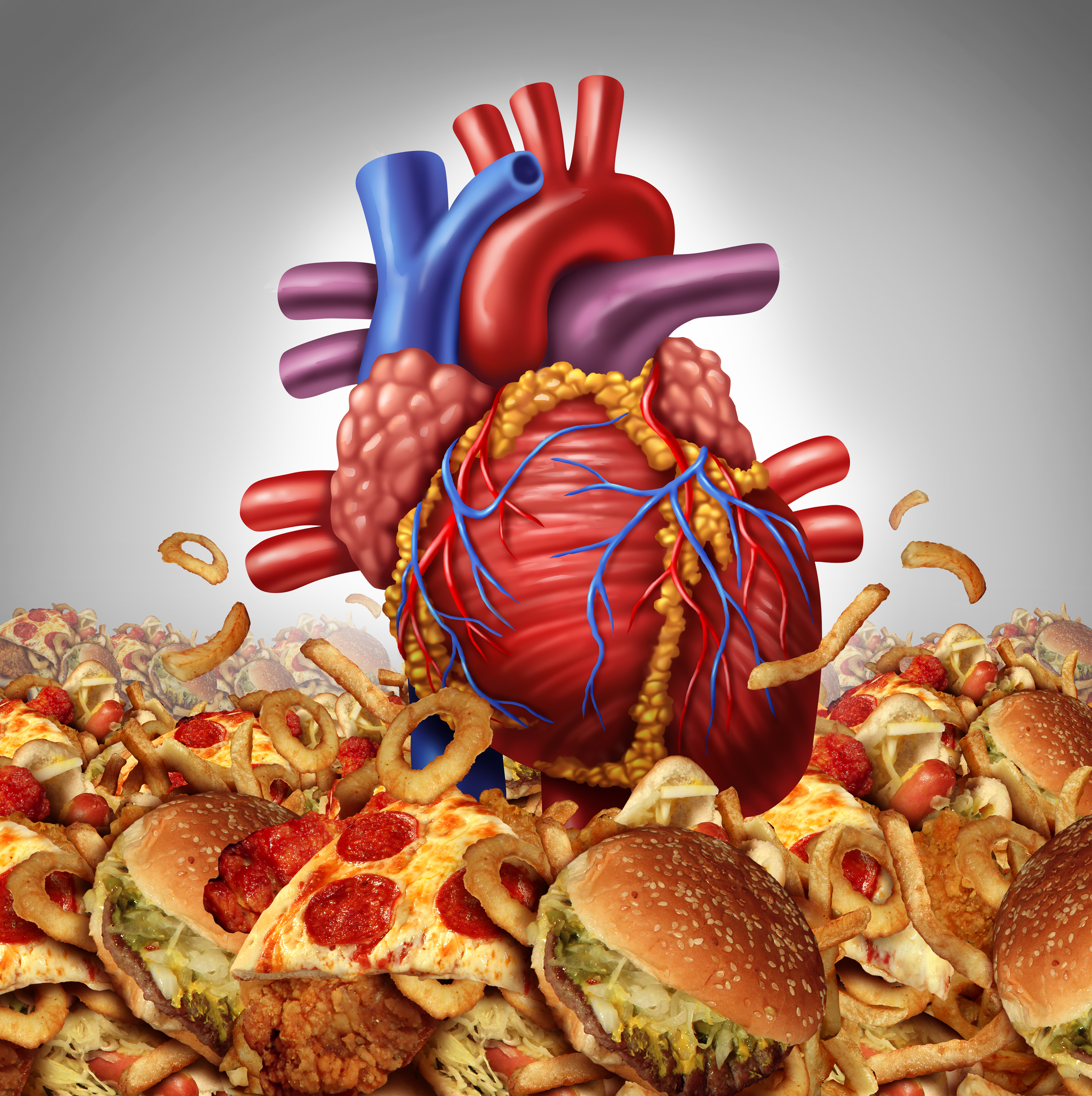 Animal products inflame and clog arteries