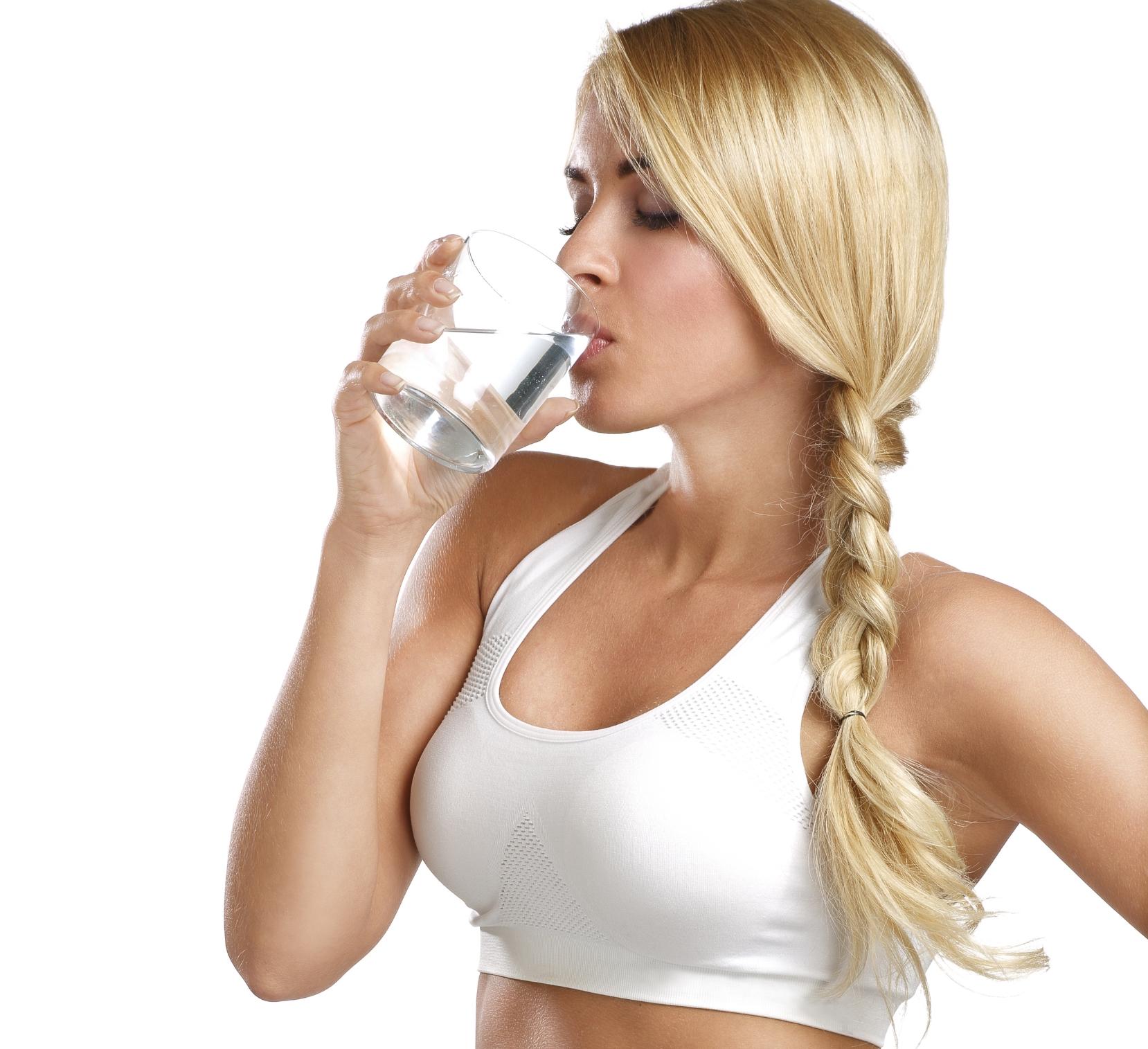 Drink lots of water!