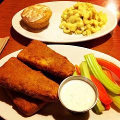 Vegan Tofu Hot Things from Cornbread Cafe