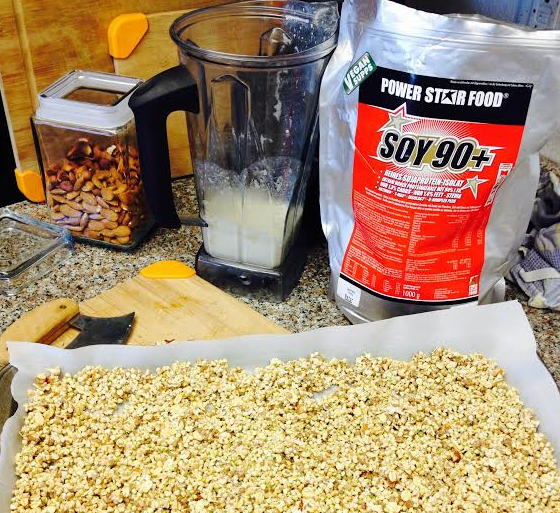 vegan supps protein powder granola