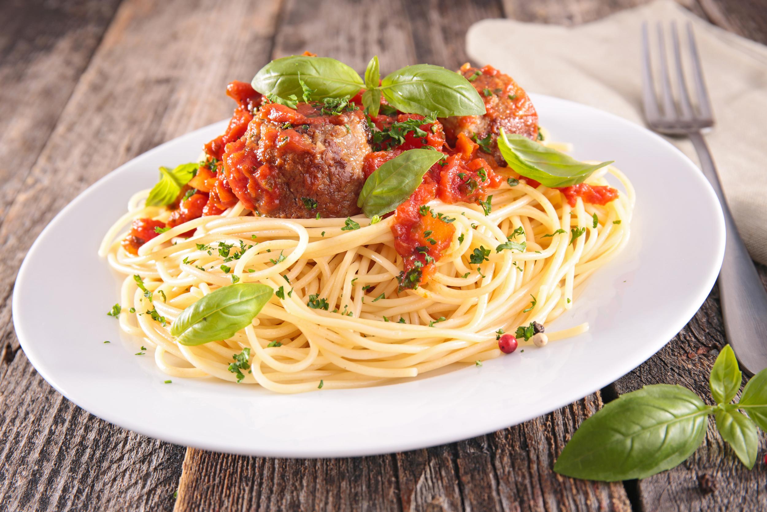 vegan spaghetti pasta wheat gluten