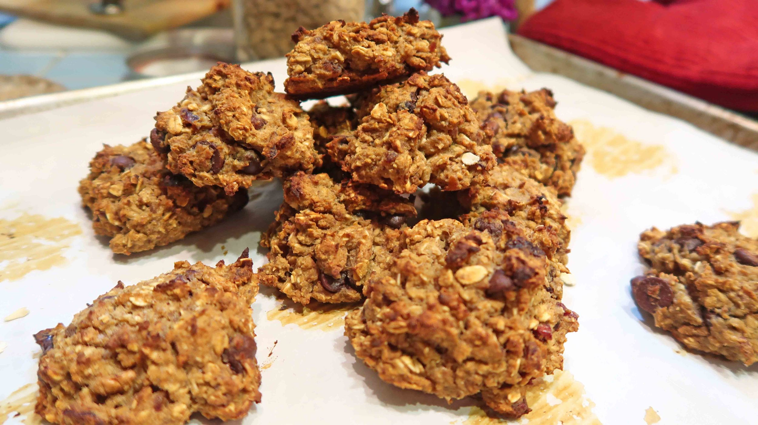 chocolate chip chickpea cookies 1 by 2HealthyFitVegans