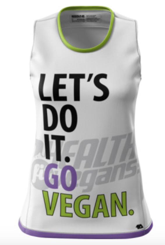 There are MENS and WOMENS RUNNING Tanks, perfect for summer!