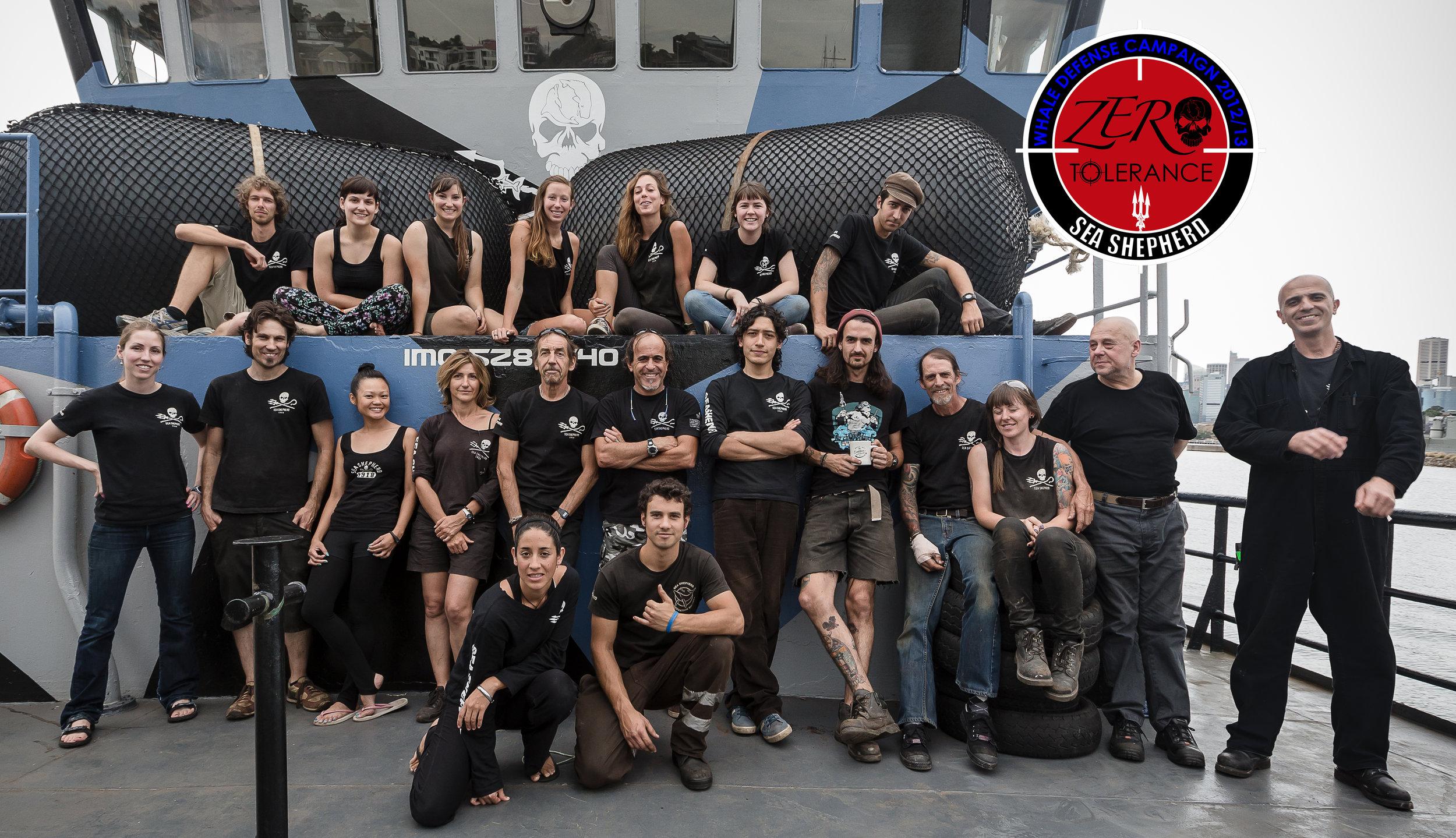 Our Sea Shepherd Antarctica Crew Shot