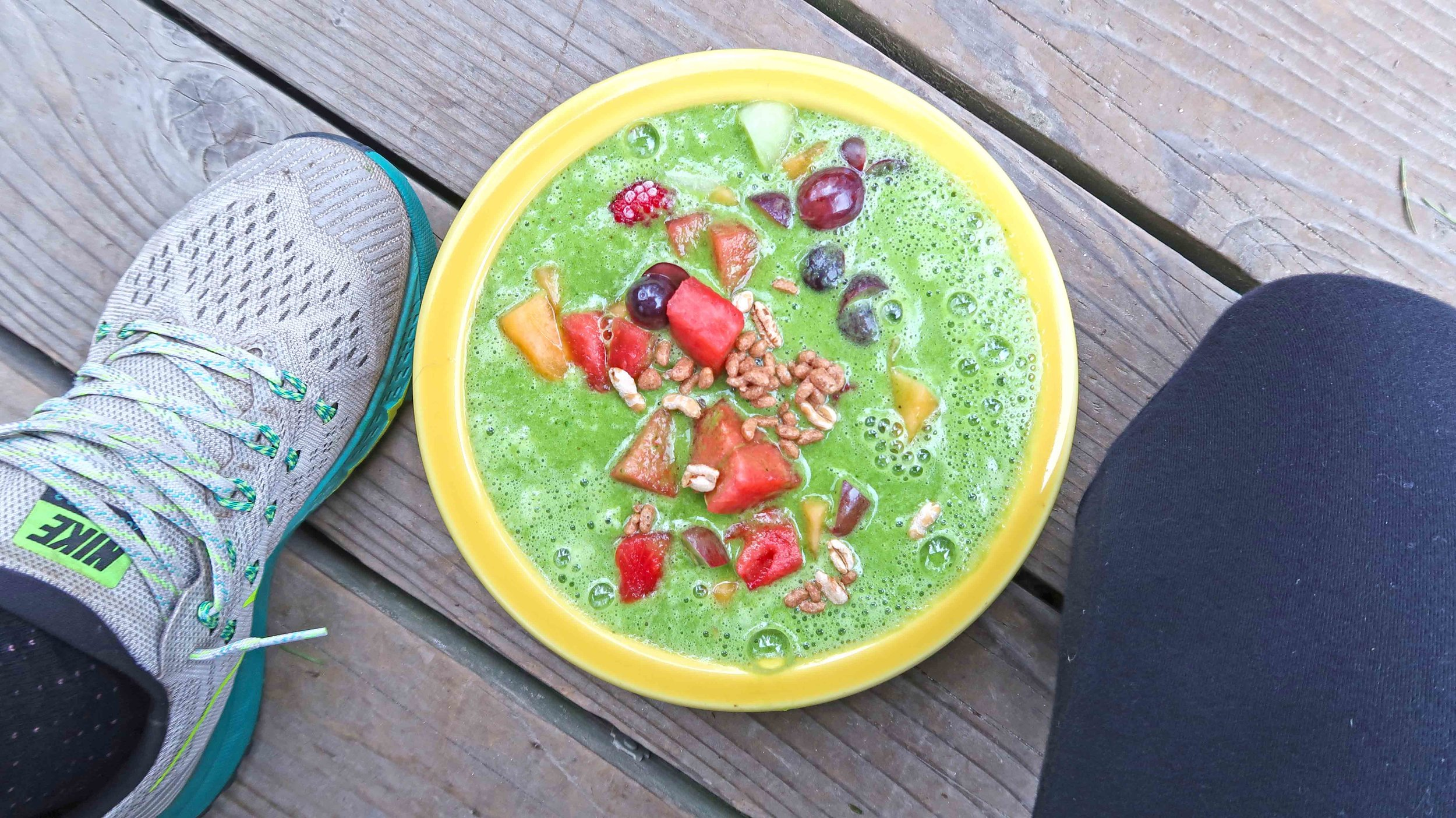 Green smoothies have been our go-to-breakfast these days, over a big bowl of Steel Cut Oatmeal!!! :) Download our free-smoothie E-book for our favorite smoothies, or check them all out in our Cookbook!