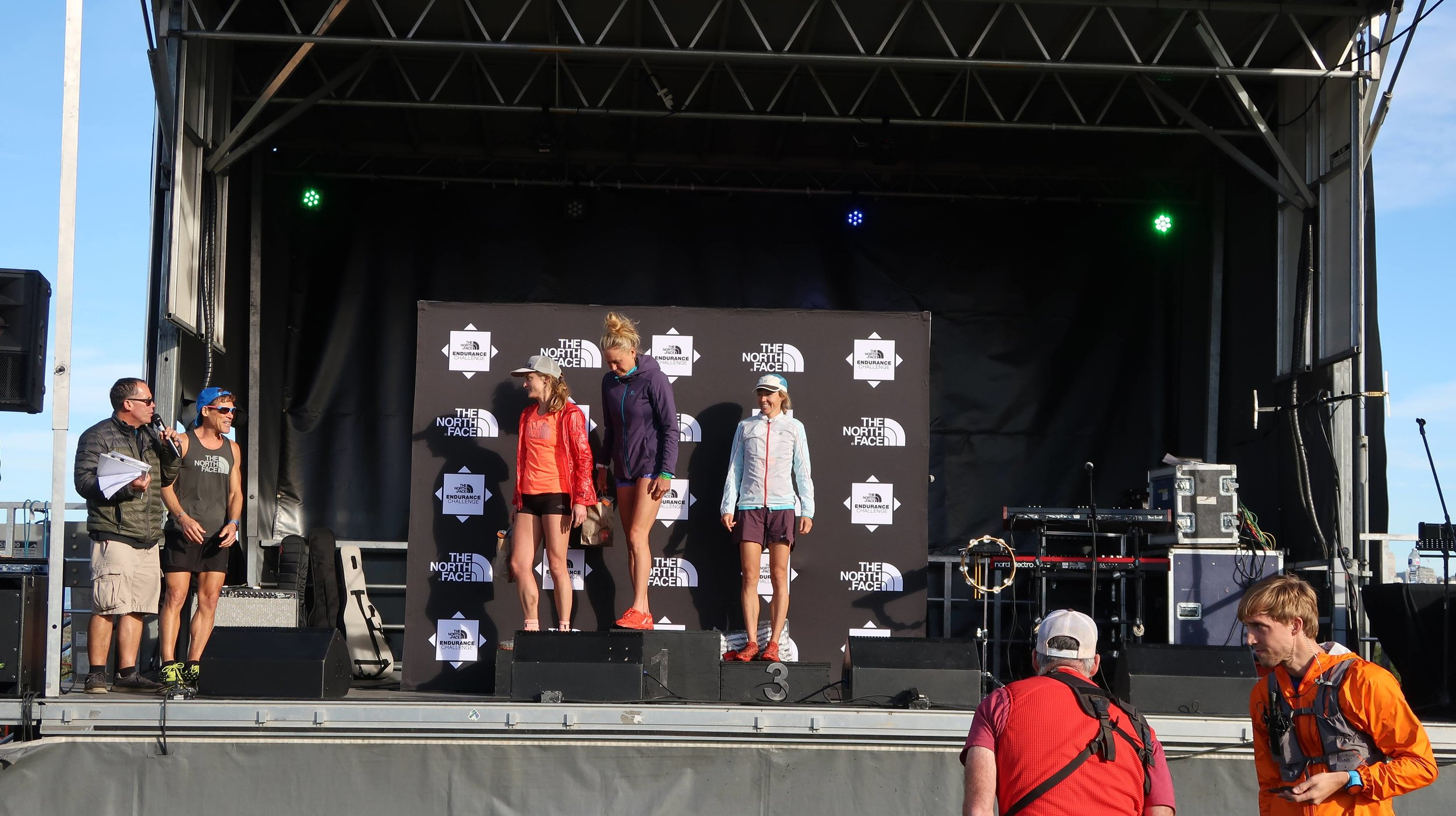 Winner Ida Nilsson, Second place: Clair Gallagher, third place: Megan Kimmel . We were so proud of Ida, Katie got a chance to run with her for 10 days in Norway when she won the Running Dream Trip with Salomon!