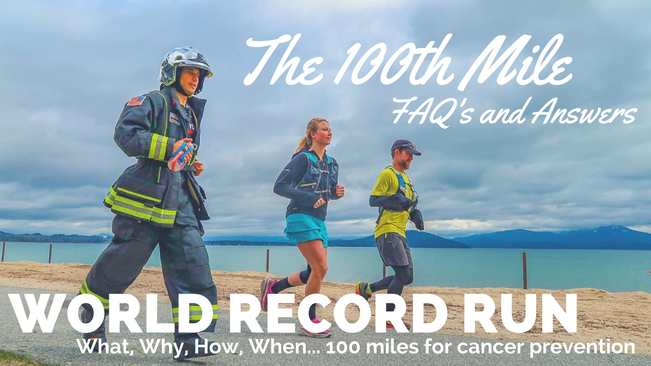 Find out more about Gwen's world-record 100 mile run, cancer prevention, the documentary and getting involved- all hosted by our Non-Profit: Plant-Positive.org