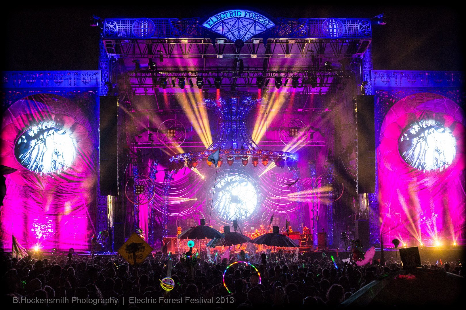 Electric Forest 2013. Used with permission from B. Hockensmith Photography