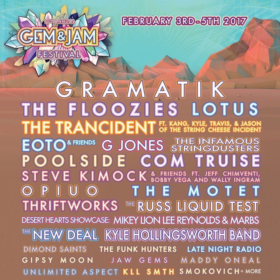 the 2017 lineup is FIRE!