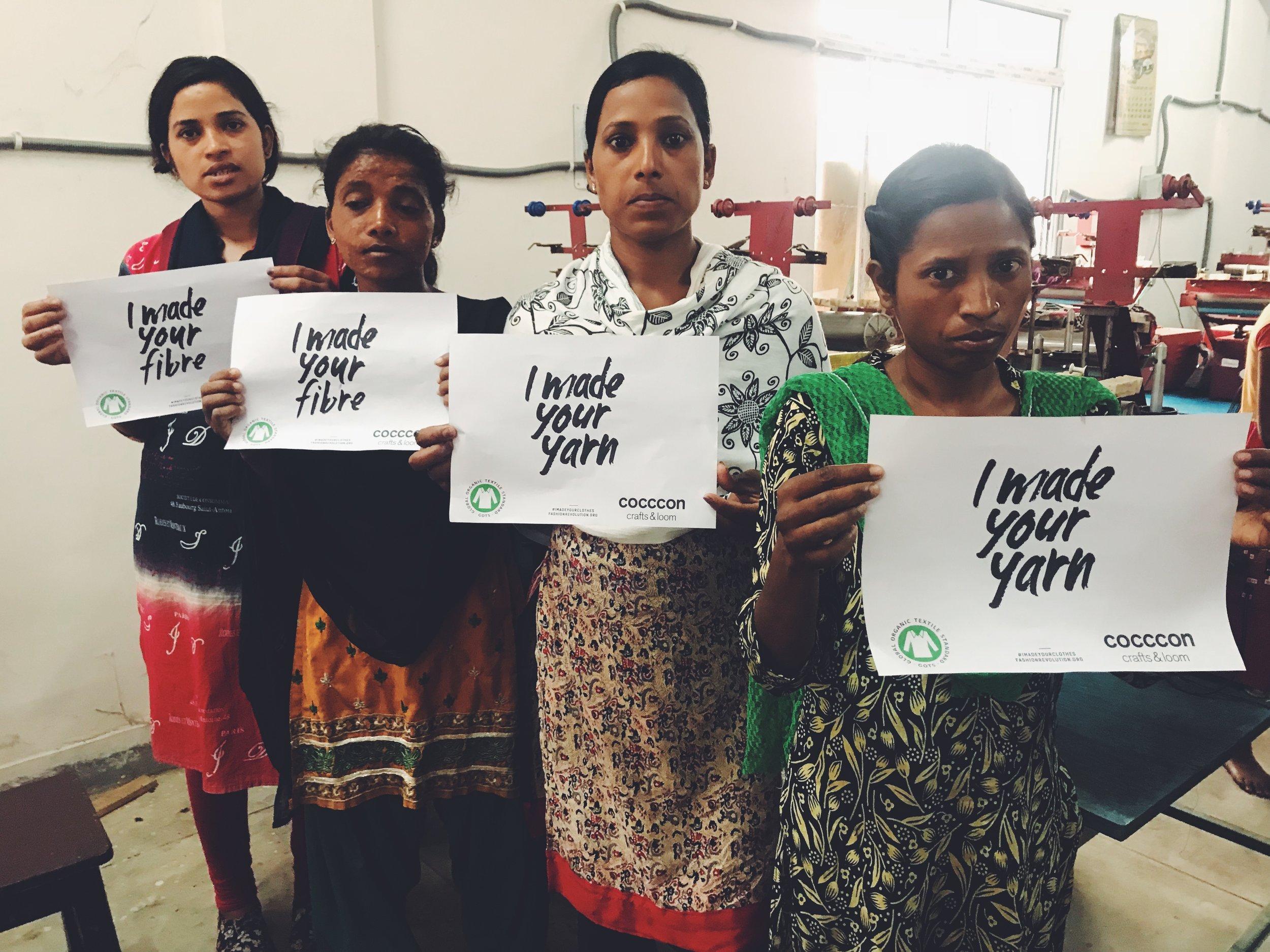 Silk Yarn Spinners in Sareikela, India
