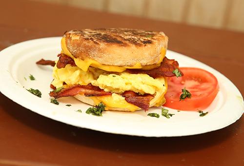 Bucc Muff - breakfast