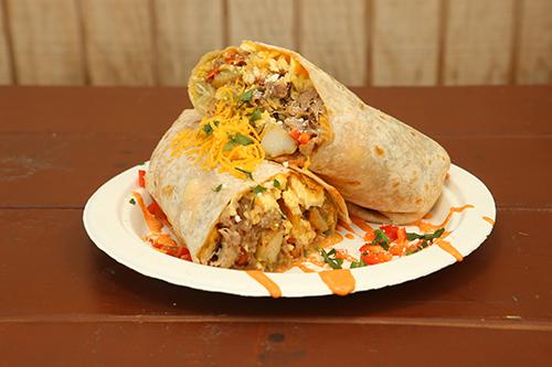 Ma-Shaka Breakfast Burrito