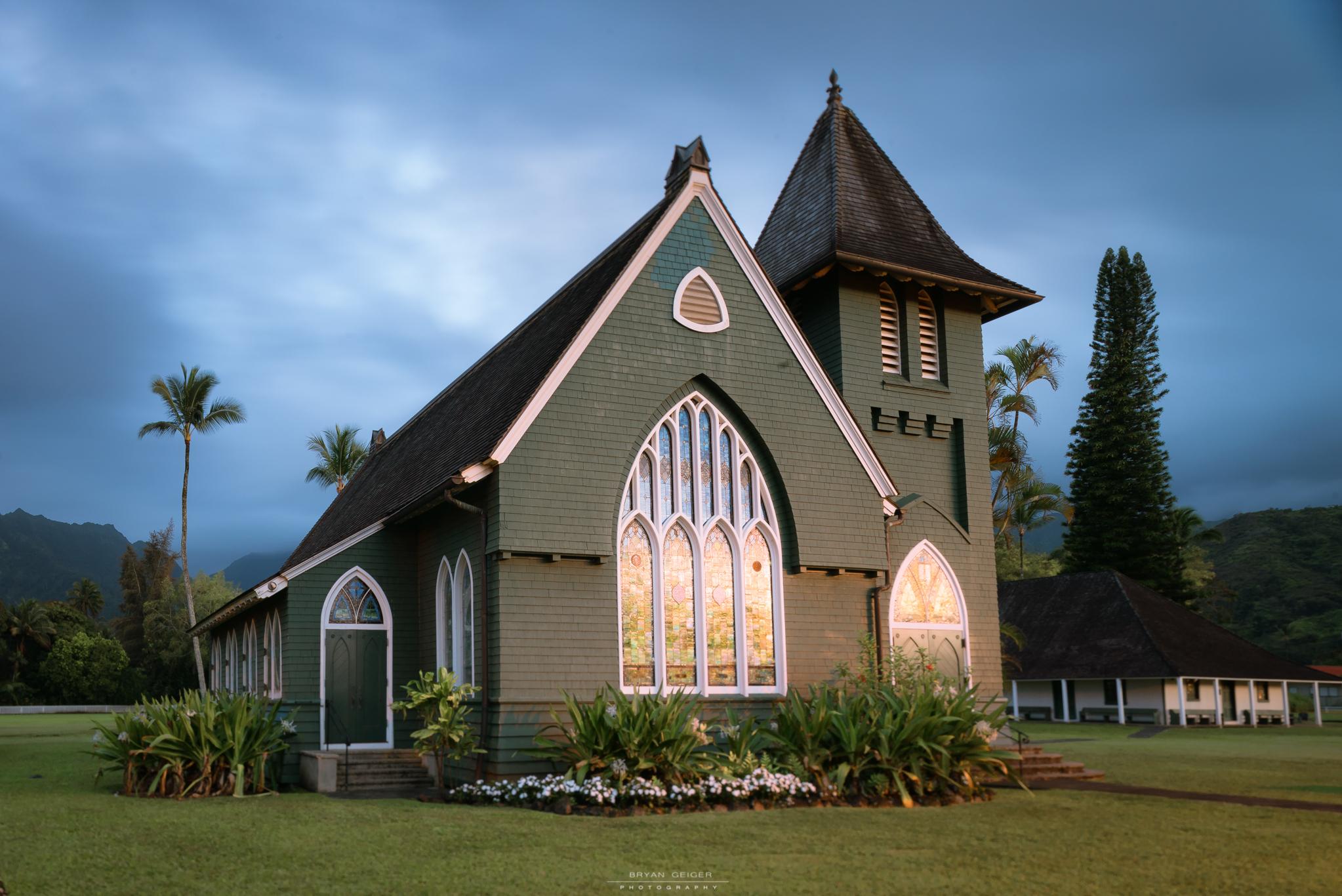 The Iconic Hanalei Church