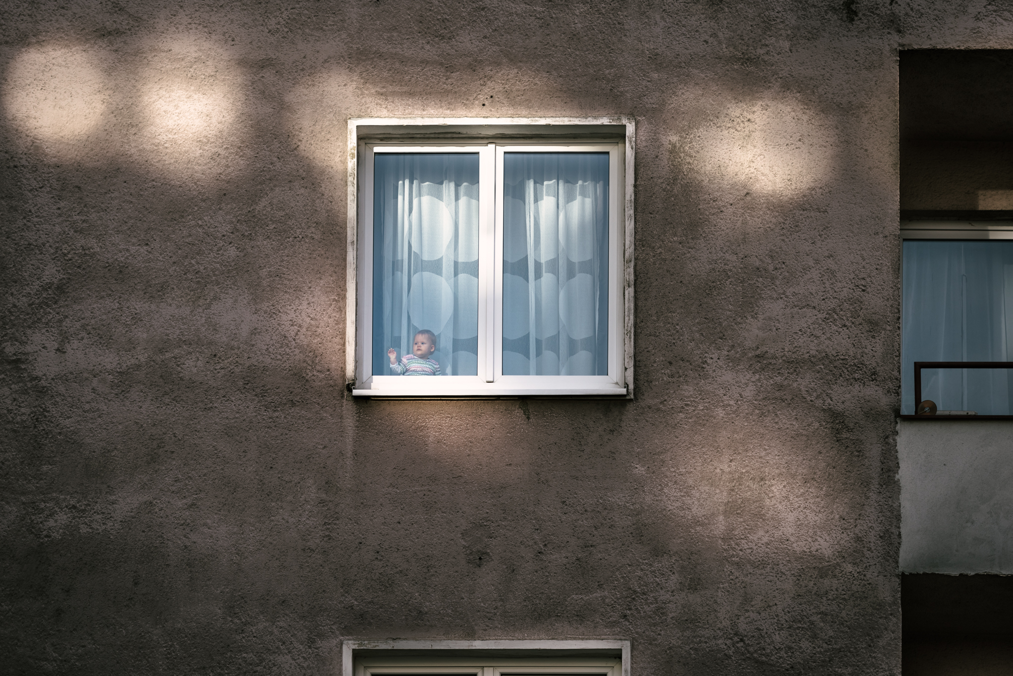 Baby in a Window