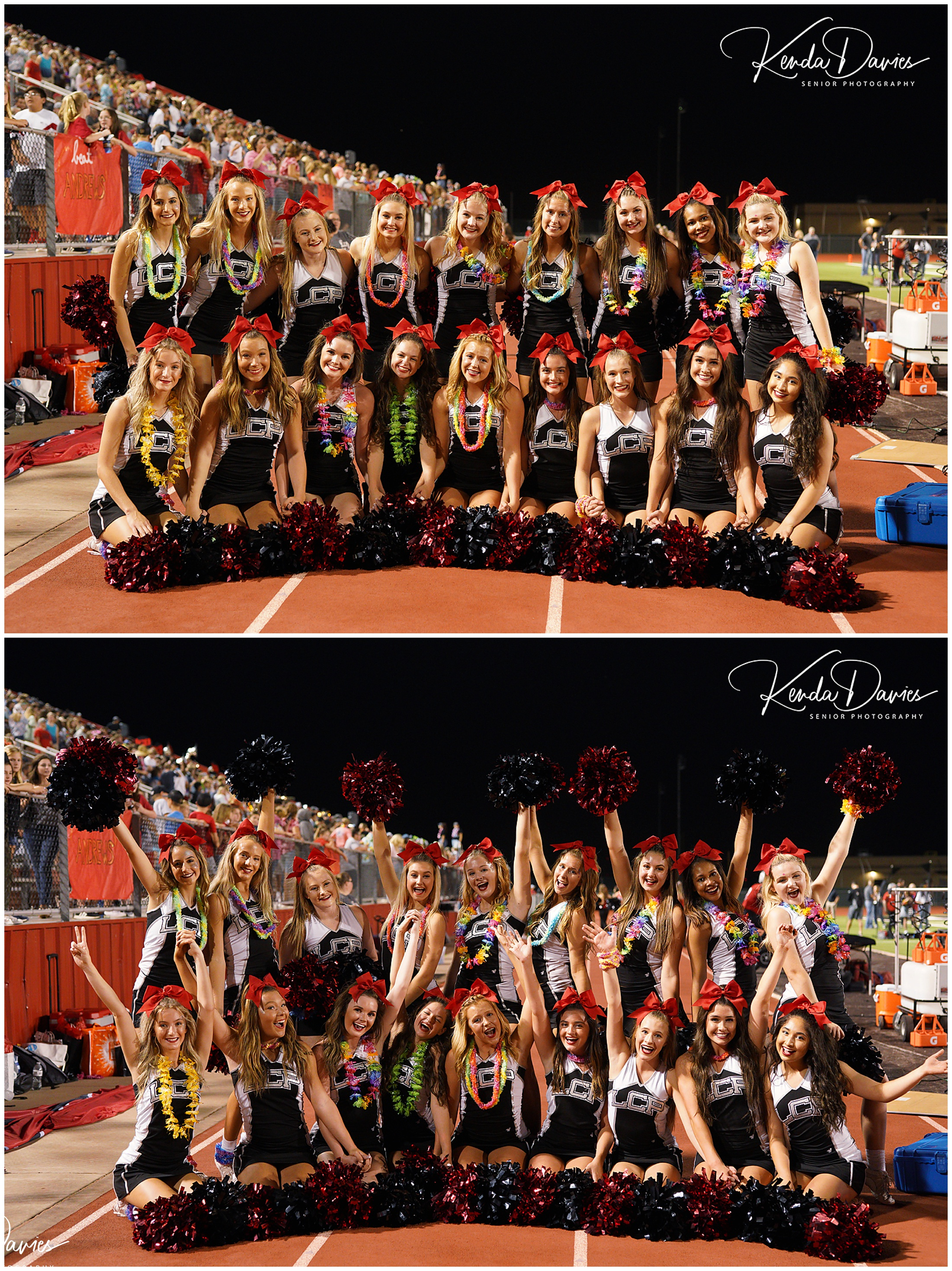 The beautiful and happy, Lubbock-Cooper Pirate Cheerleaders!!