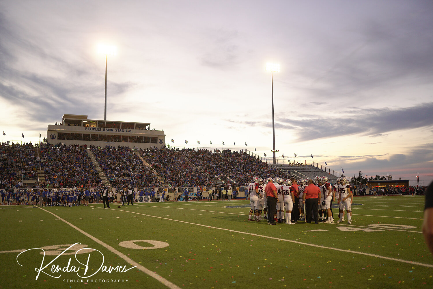 A beautiful West Texas sky along with FNL…nothing better!