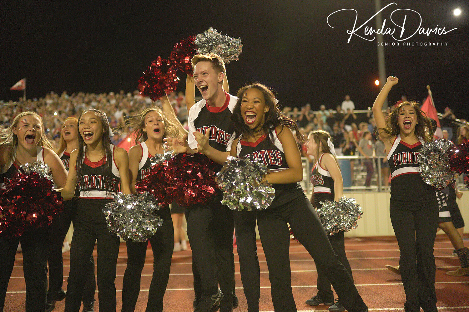 Probably my favorite image taken during the LCP vs FHS game! Elation! Nothing better!
