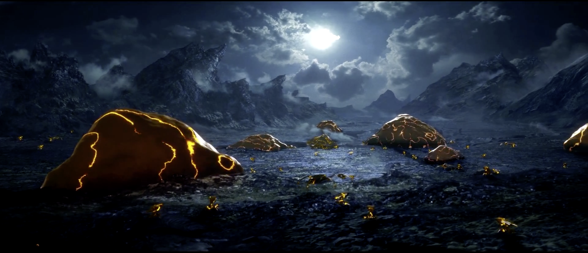 Could not find a clip of this scene. Matte painting by Igor Staritsin and Rahul K Venguopal.