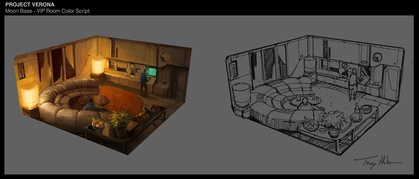 Moon base - VIP Room