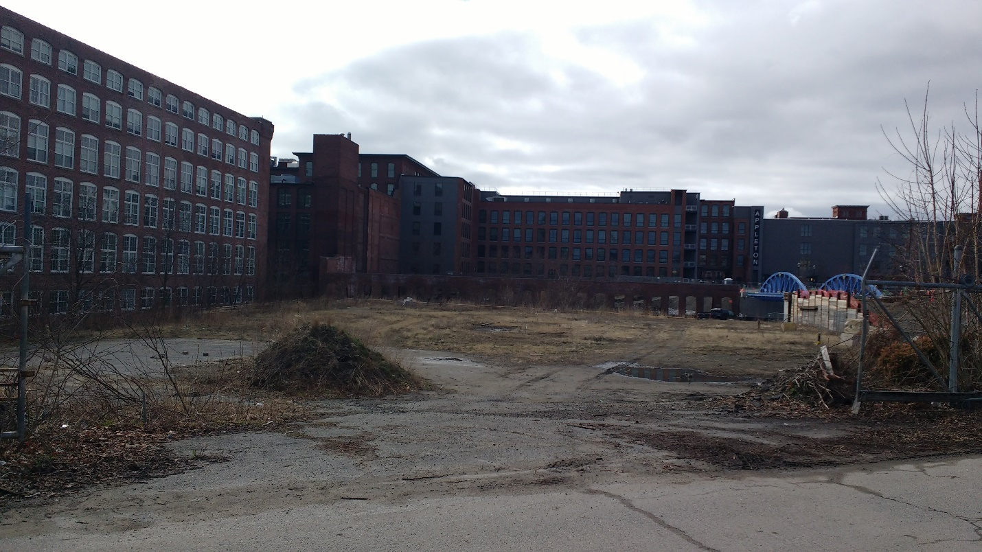Future site of Hamilton Canal Innovation District (HCID) Parking Garage.