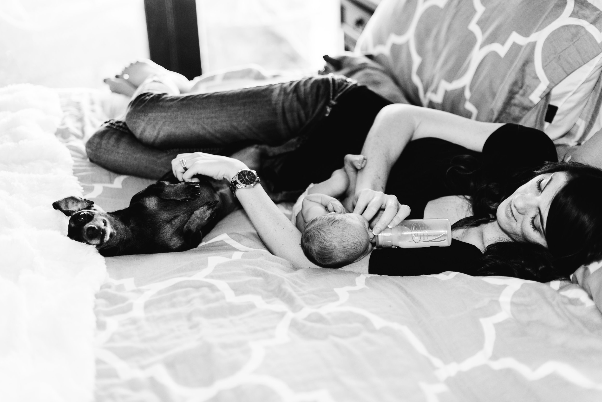 mother and children lifestyle photography by four fourteen