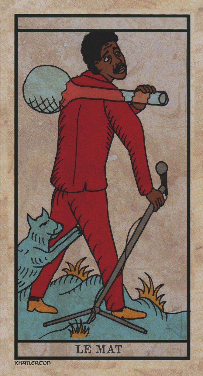 The Fool- Black Power Tarot