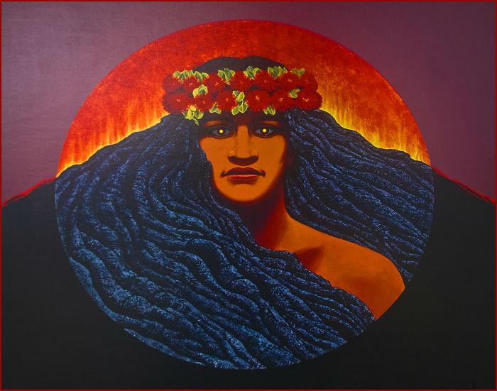 Pele, Goddess of Fire