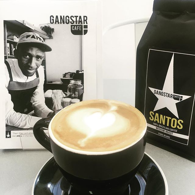 The perfect lunch time addition! A single origin coffee at Gangstar Cafe. Visit us in Mowbray or in Durbanville! #gang2star
