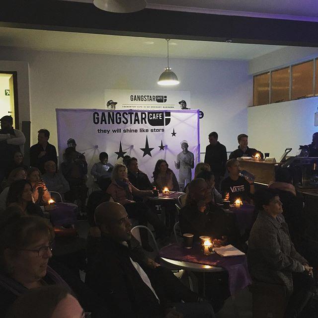 Packed Gangstar Cafe for @chrissytmusic album launch.