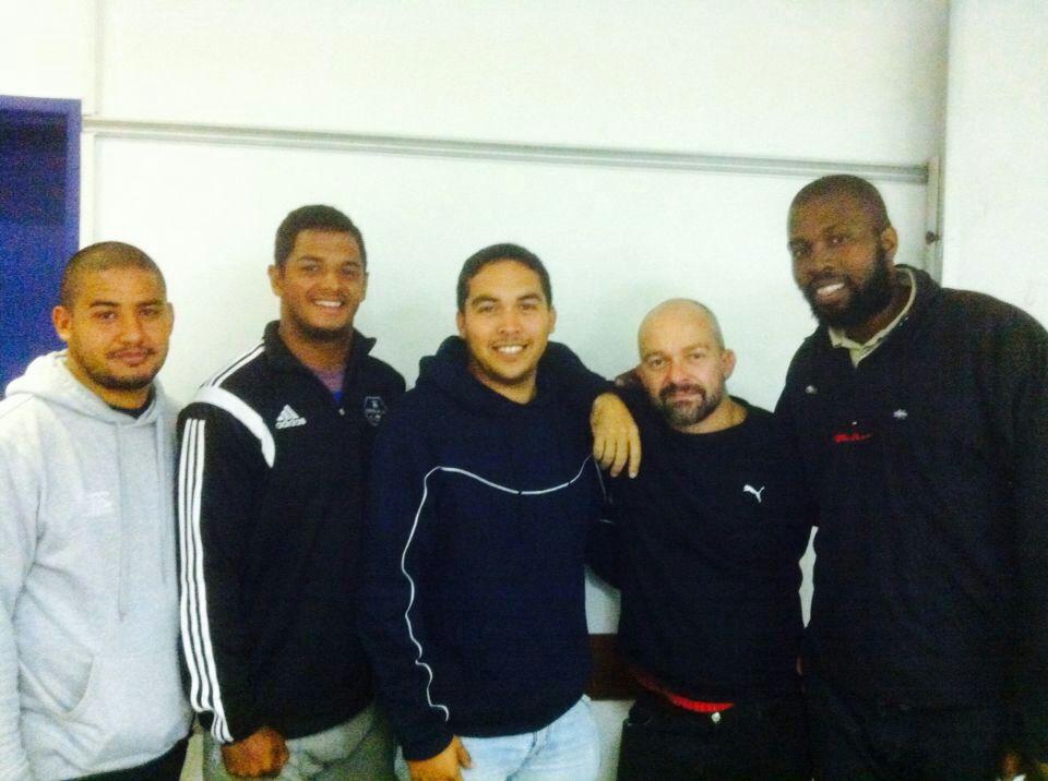 Keuen Roberts, Coach Luke, Coach Brendon, Luke Lamprecht, and Coach India