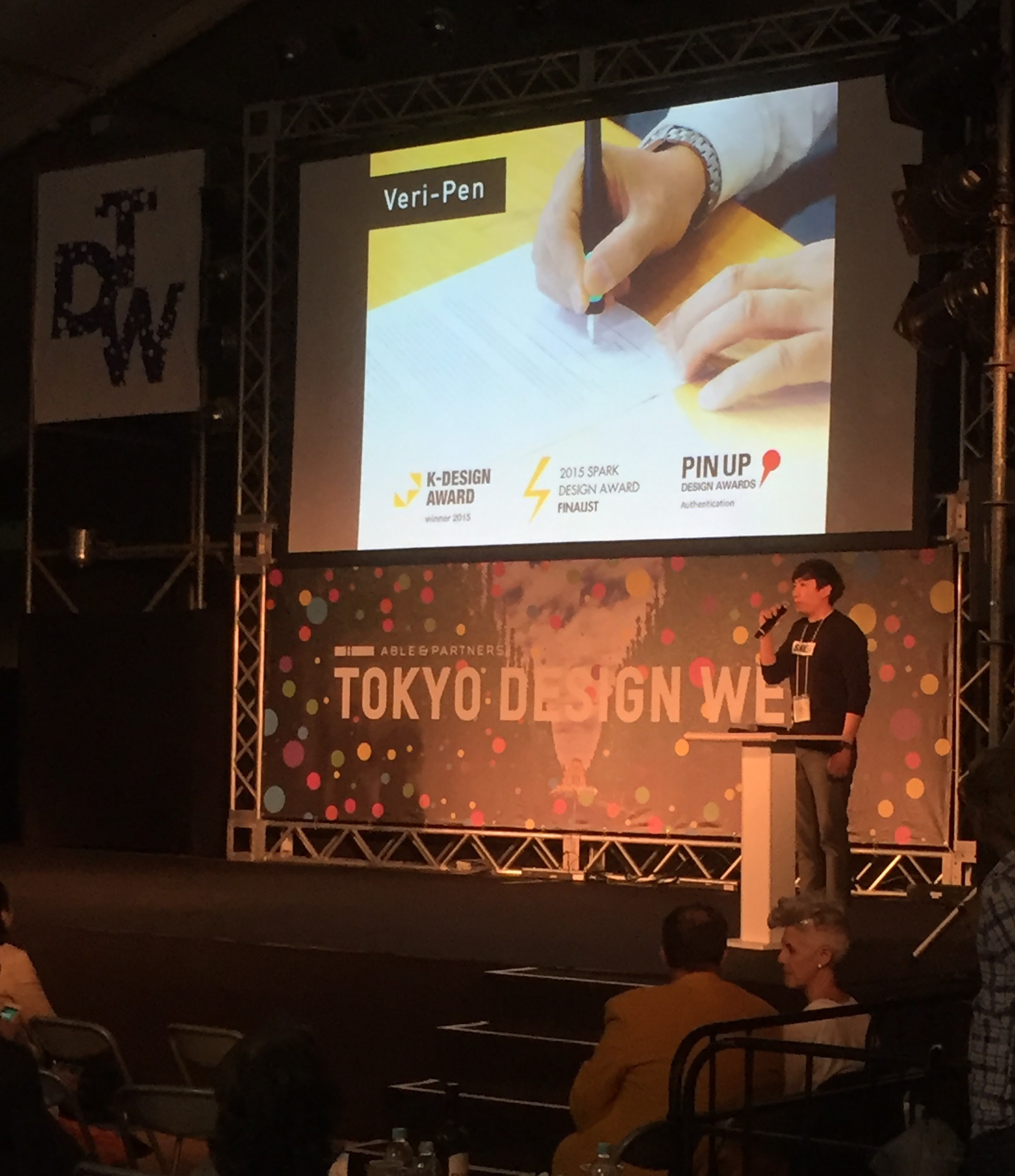 PechaKucha Talk at Tokyo Design Week main stage