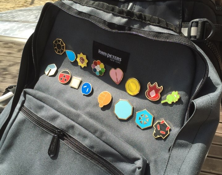 The Pokemon Badges from Amazon.com