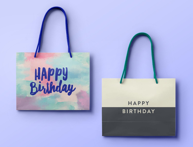 Scribbler Birthday Gift Bags