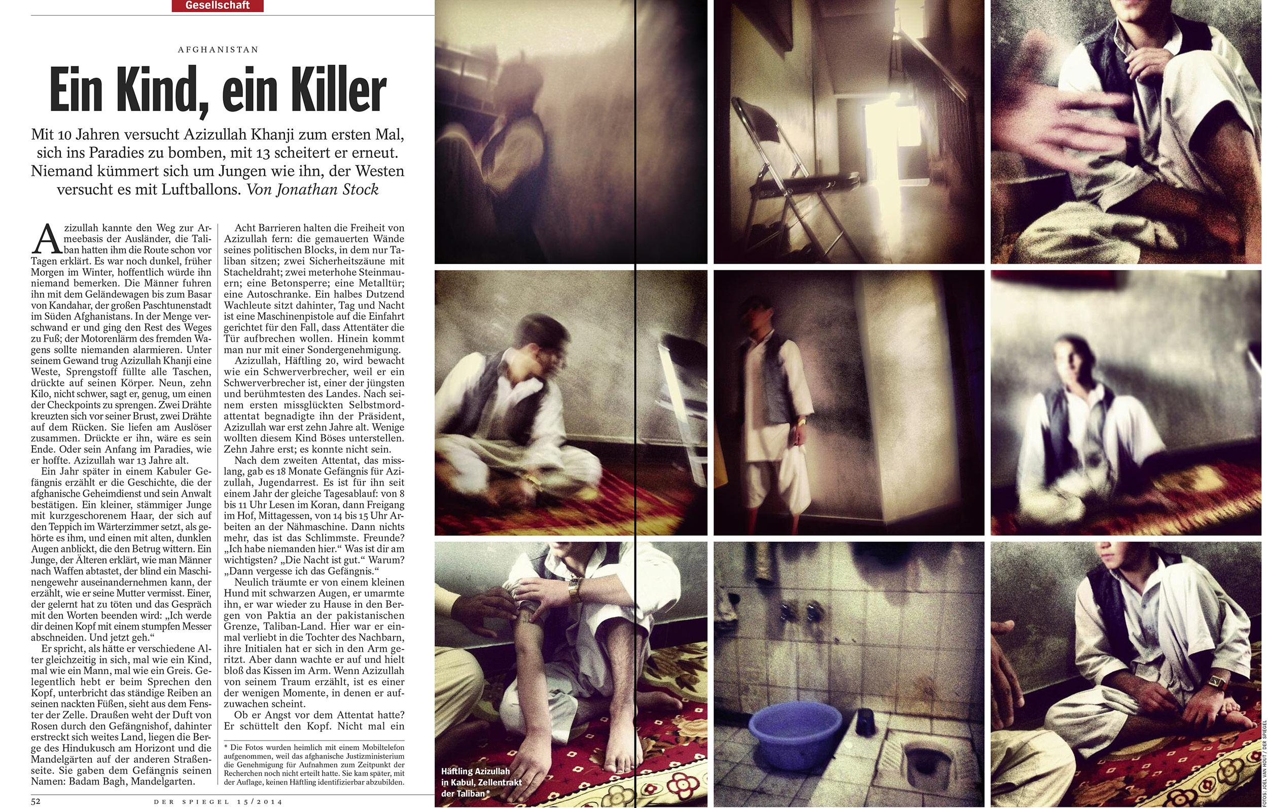 Der Spiegel, April 2014