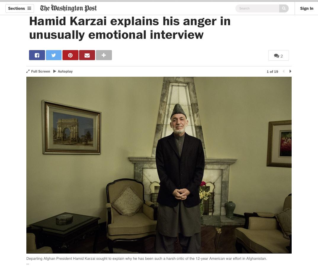 Washington Post, March 2, 2014