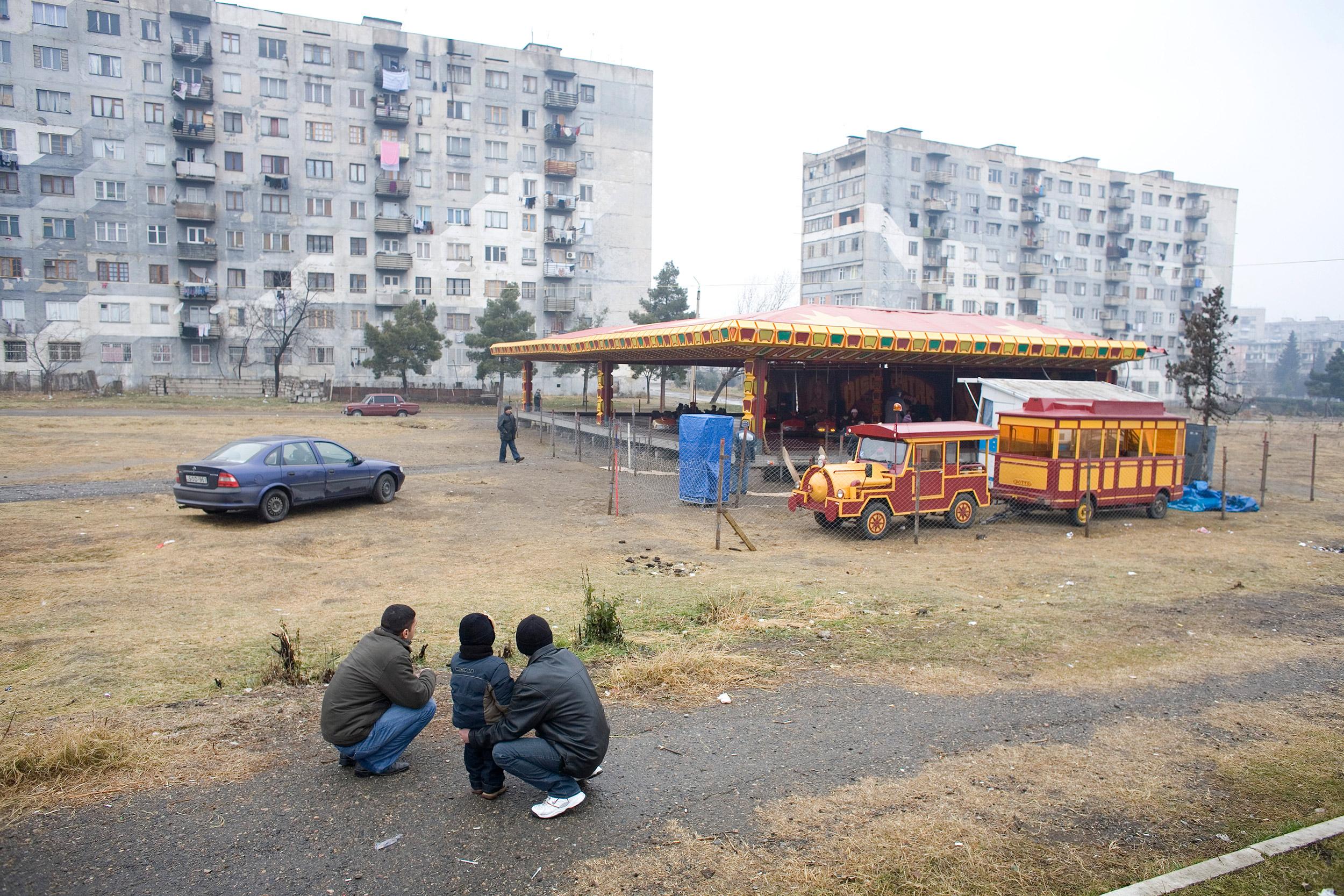 Georgia, Rustavi, January 2007