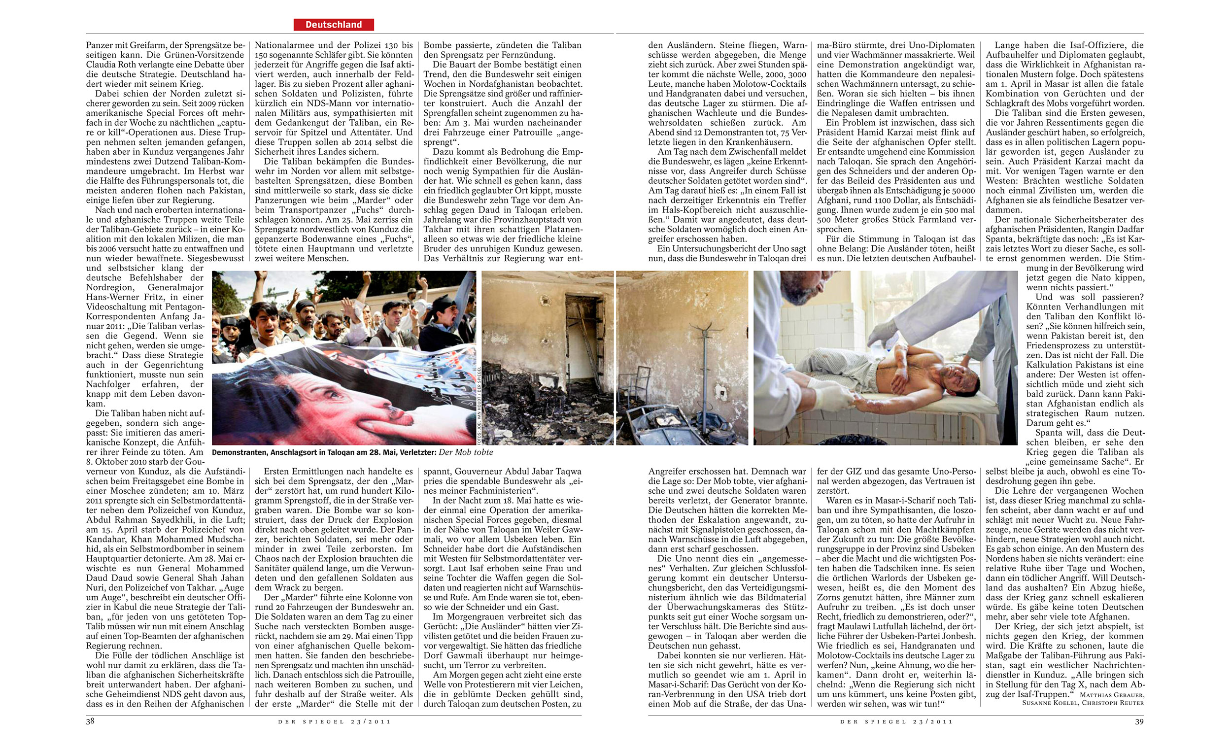 Der Spiegel 23, 2011