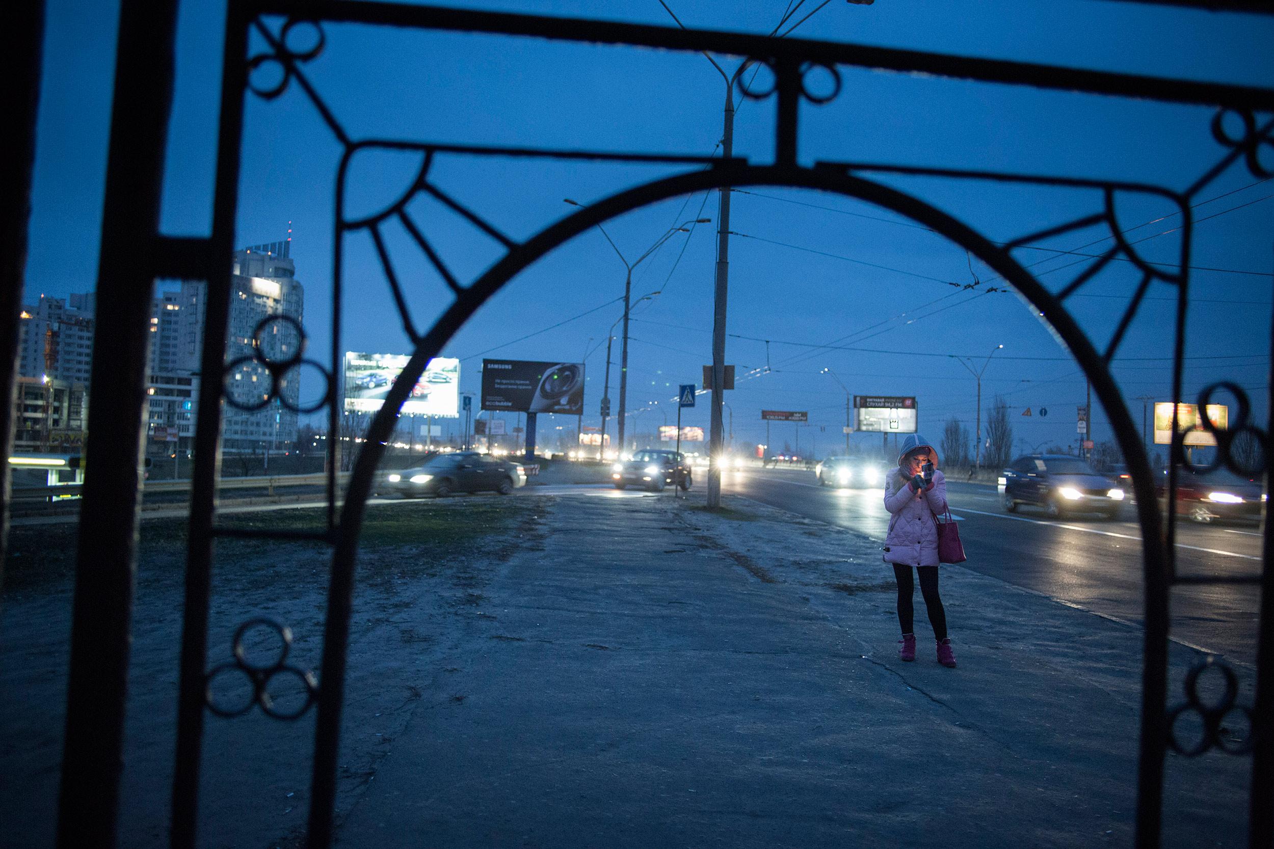 Kiev, Ukraine, November 28, 2015