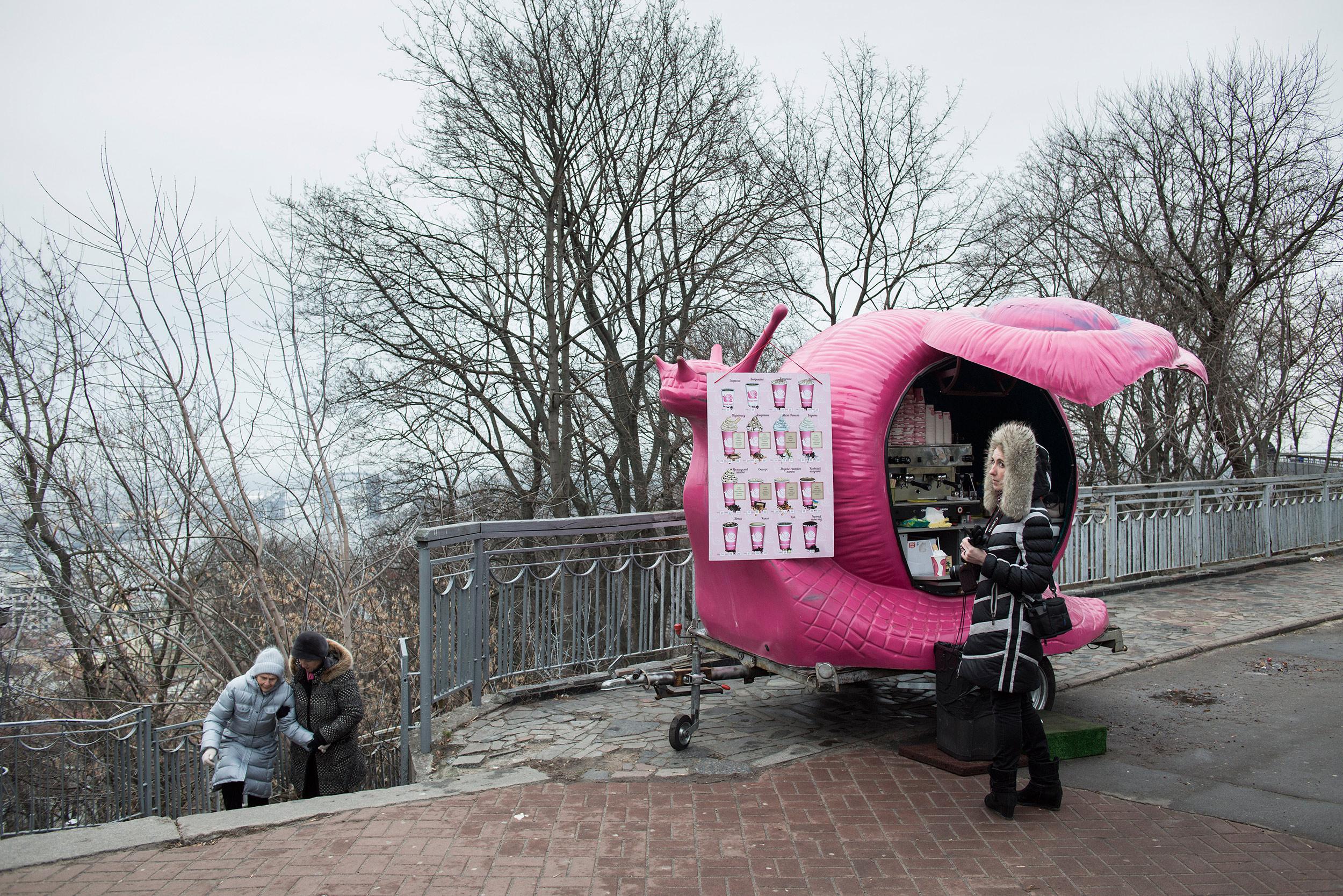 Kiev, Ukraine, December 2015