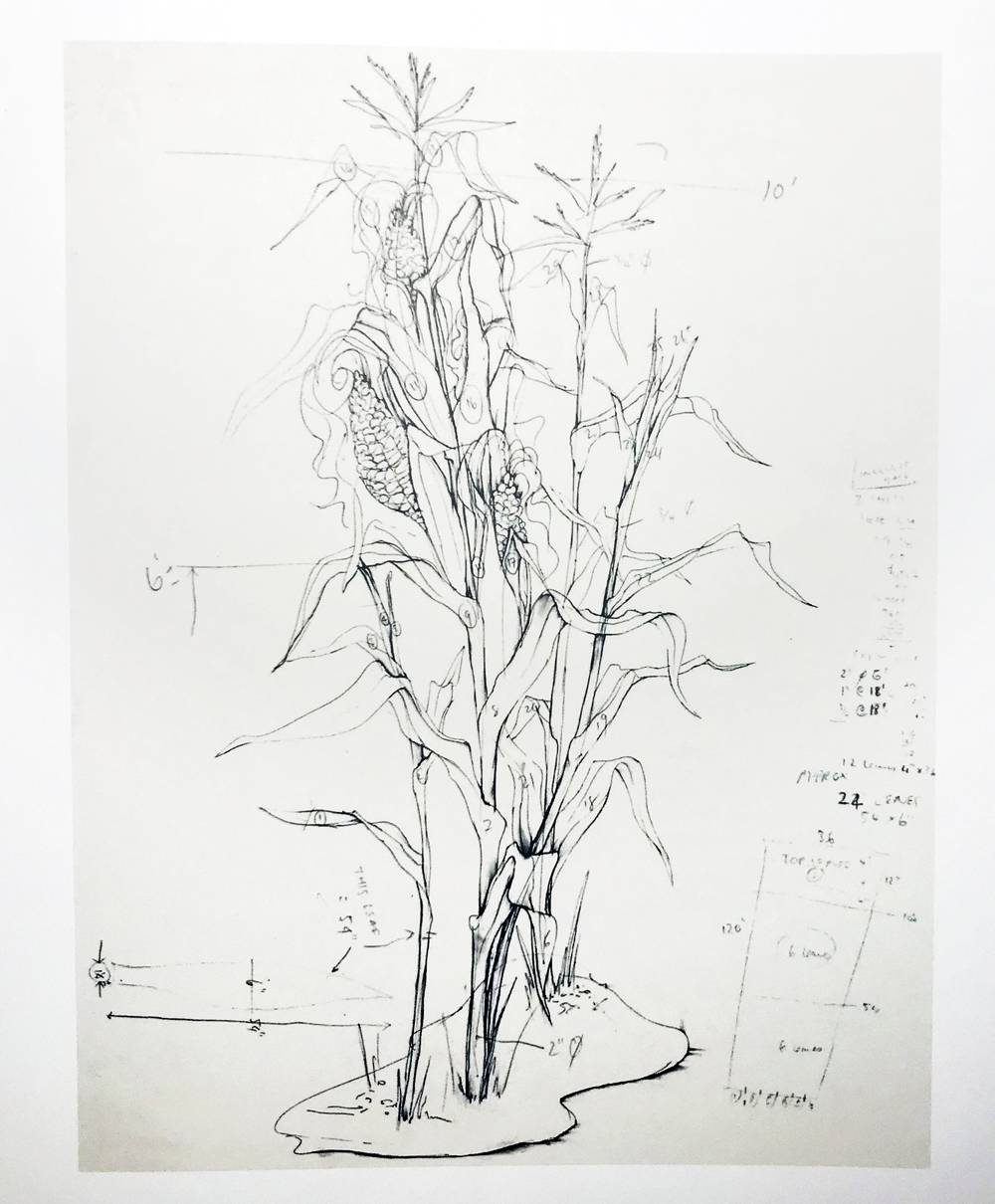 Jennifer Pastor,  Study for Fall , 1995. Drawing now : eight propositions