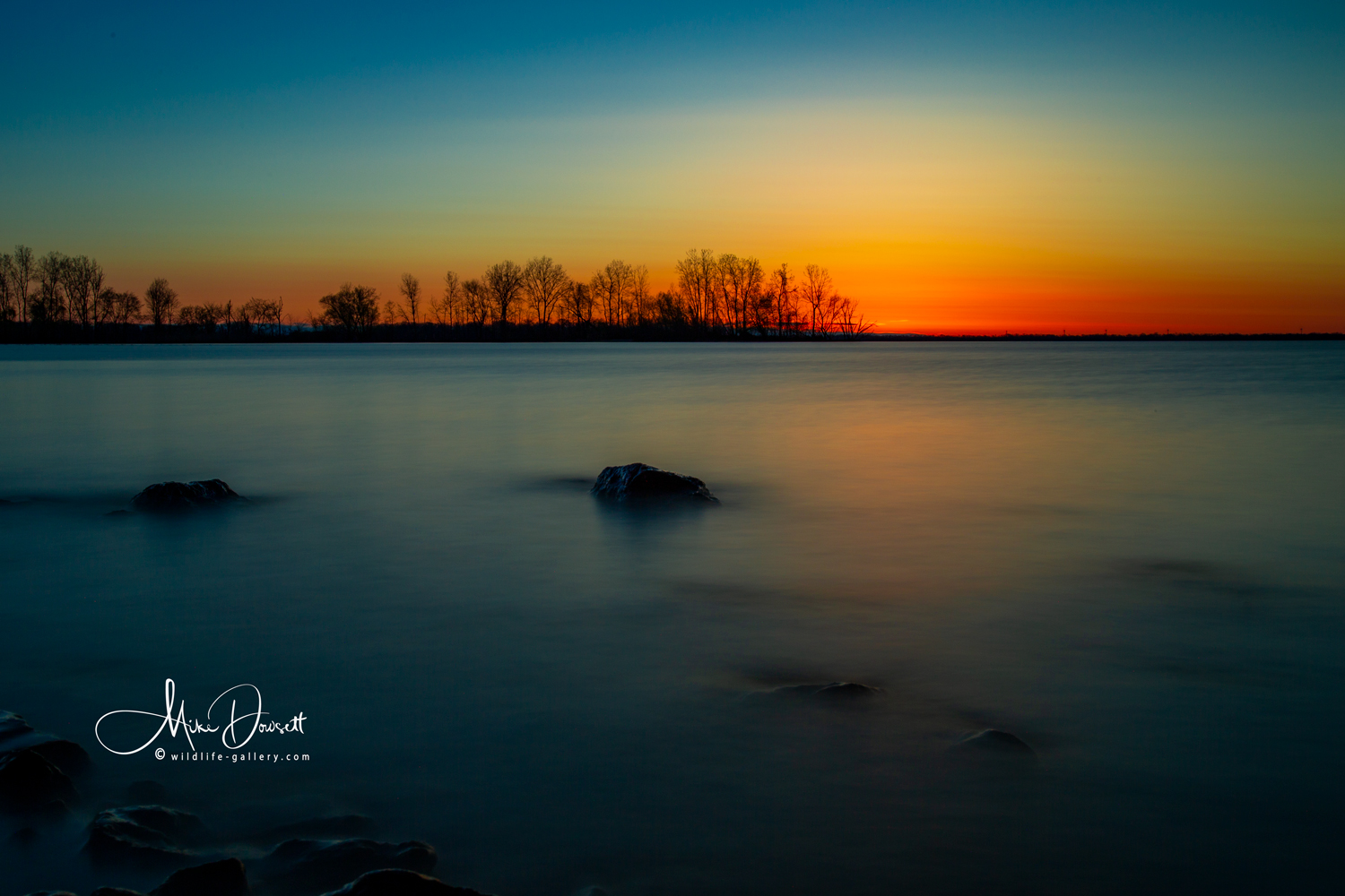 Sunrise over Lake Erie