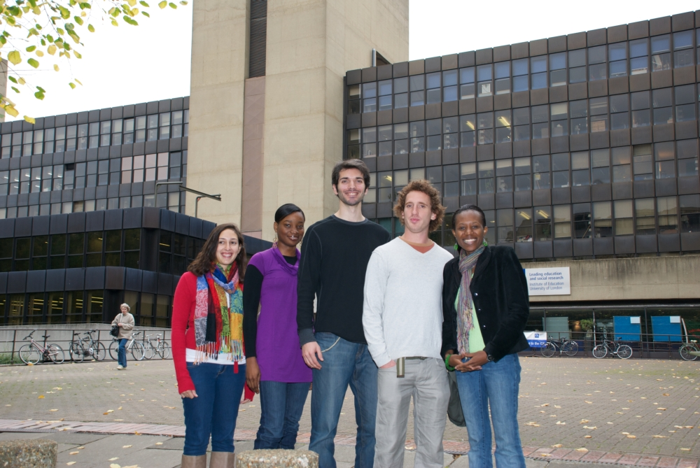 Students standing outside the IOE[1208]