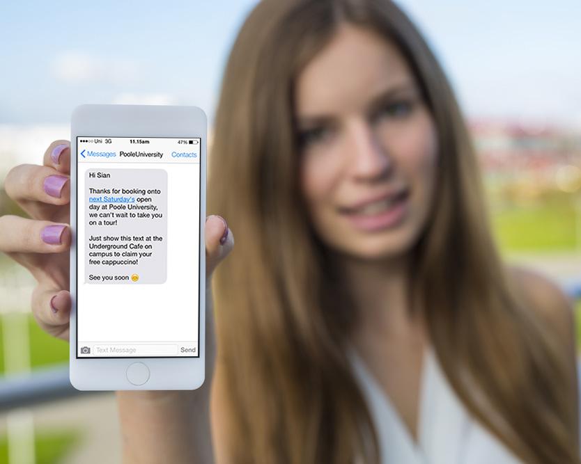 girl holding mobile