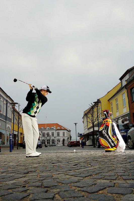 Golf kommer til byen