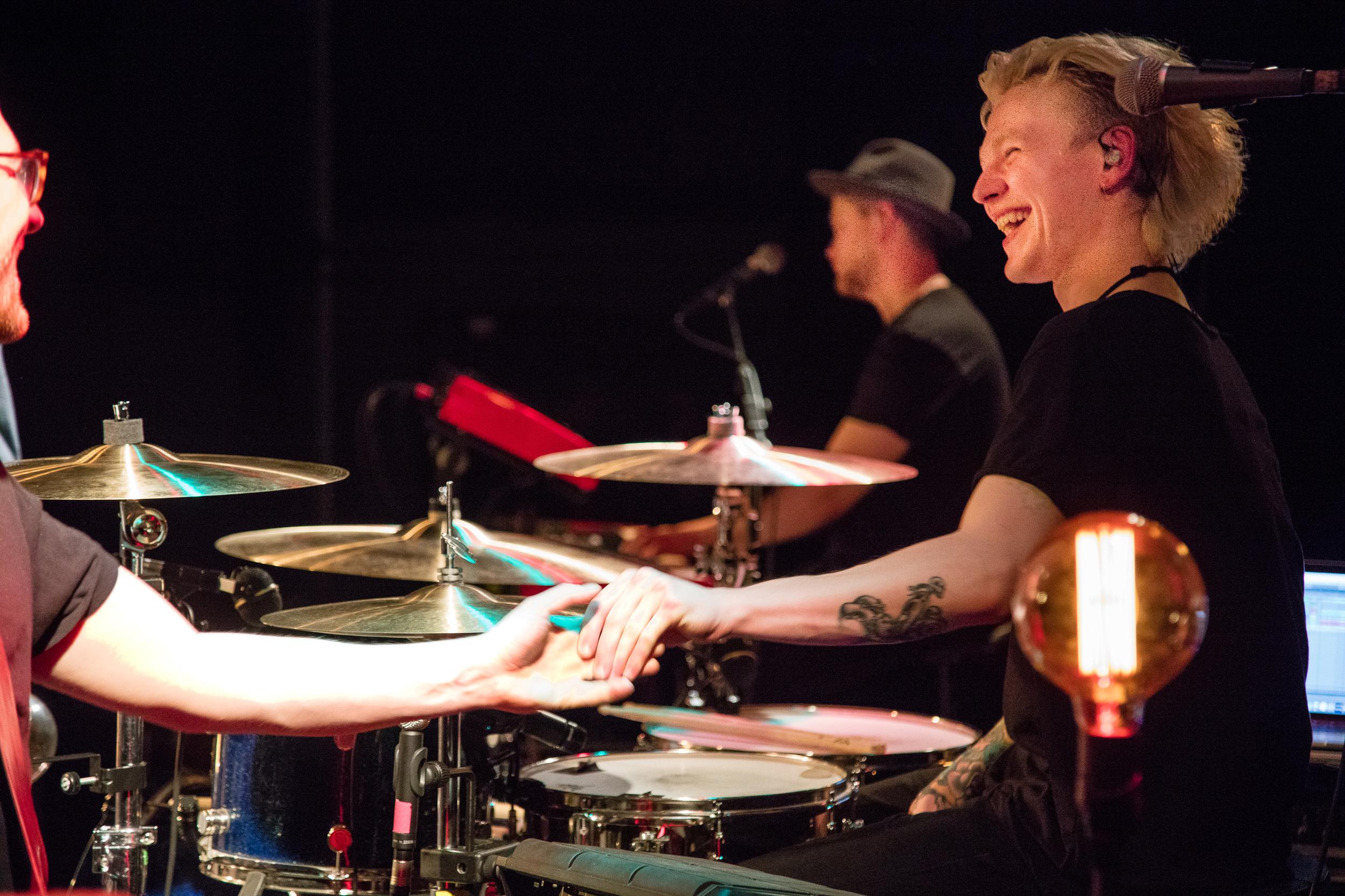 Patrick Dorgan med band