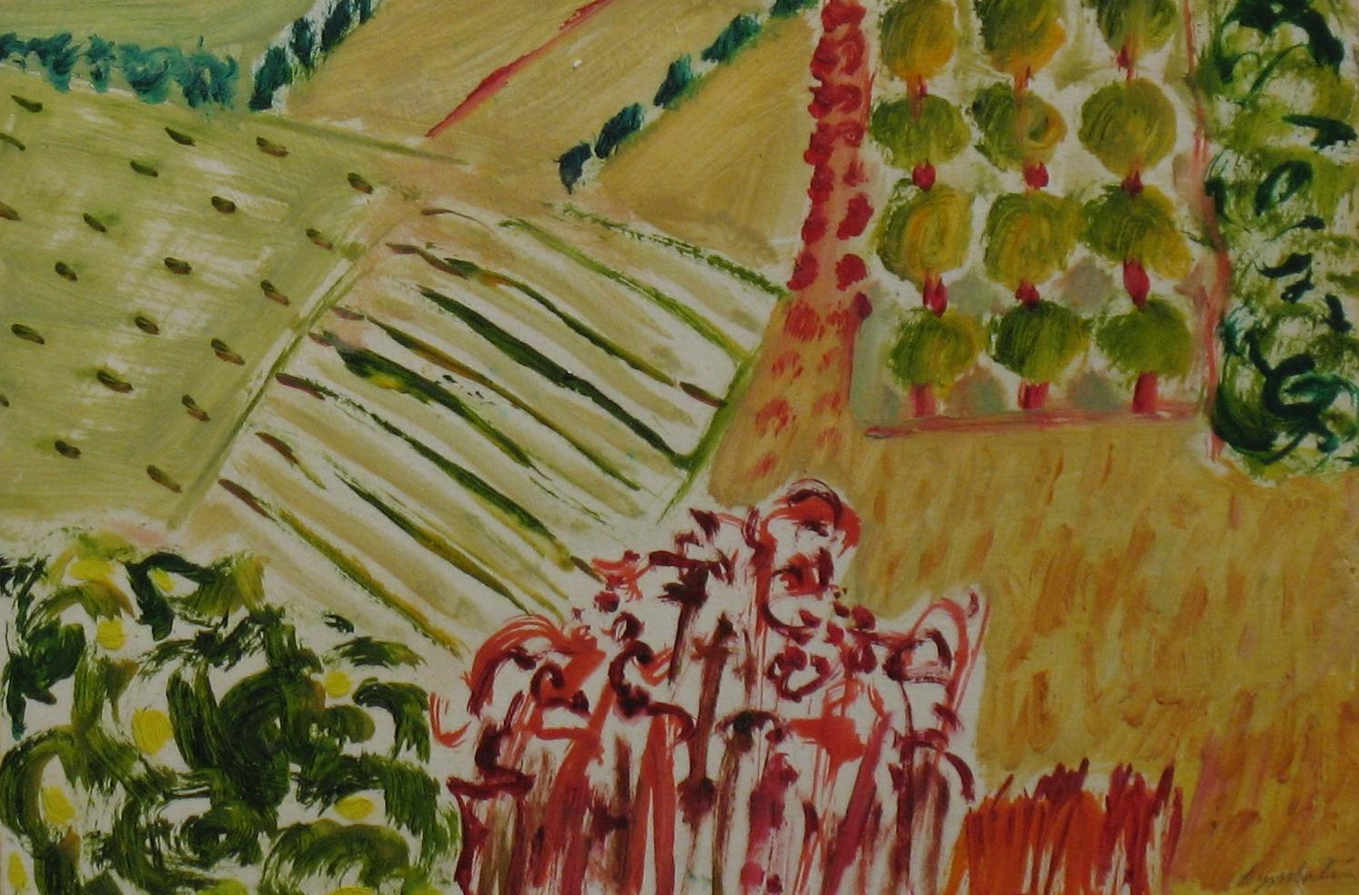 11.Lemons and Olives oil on paper,board(7x12).jpg